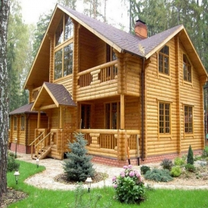 Projects of log cabins up to 300 m2