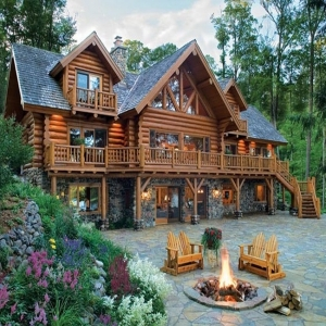 Projects of log homes up to 500 m2